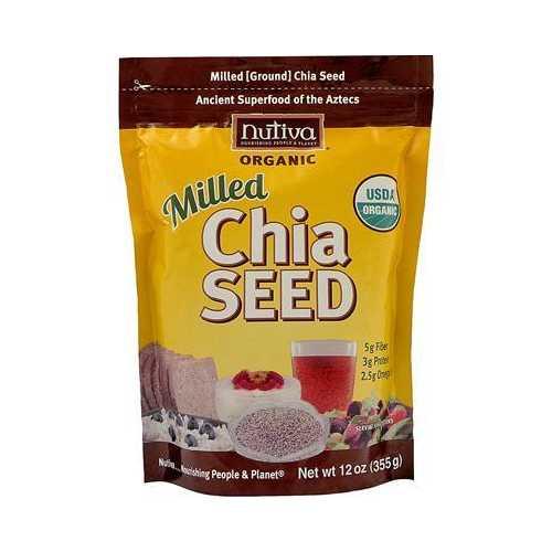 Nutiva Organic Milled Chia Seeds (1x12 Oz)