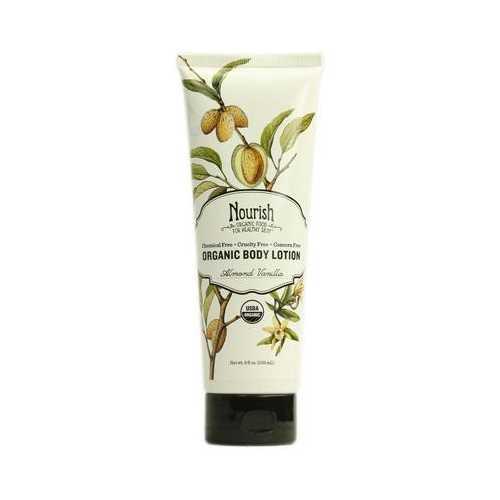 Nourish Organic Almond Vanilla Body Lotion (1x8 Oz)