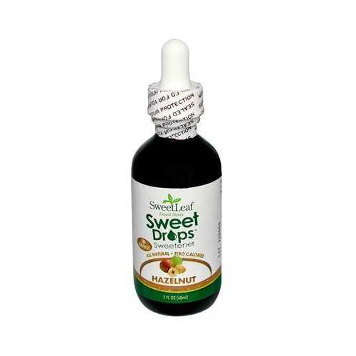 Sweet Leaf Wisdom Stevia Hazelnut Liquid (1x2 Oz)