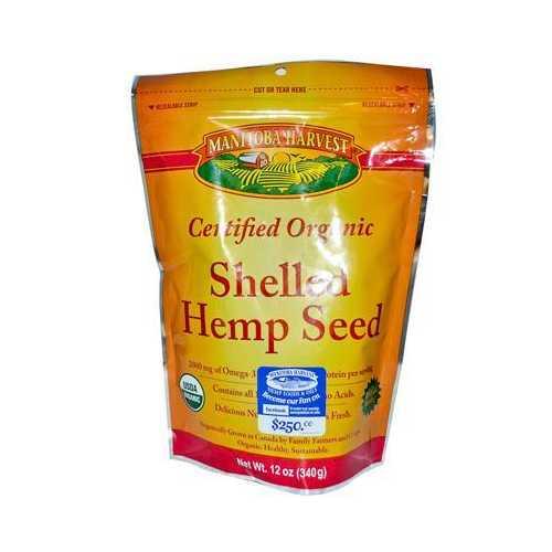 Manitoba Harvest Organic Hemp Seed Nut (1x12 Oz)