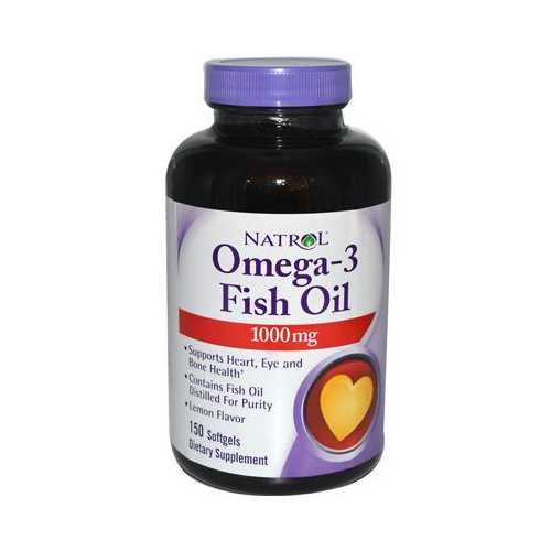Natrol Omega-3 1000 Mg (1x150 Sgel)