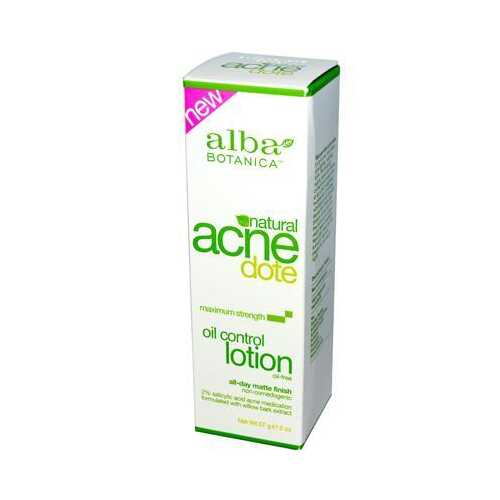 Alba Botanica Acnedote Oil Control Natural Lotion (1x2 Oz)