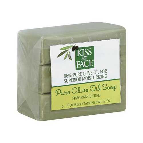 Kiss My Face Pure Naked Olive Oil Bar (1x3-4 Oz)