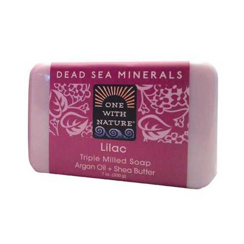 One With Nature Lilac Bar Soap (1x7 Oz)