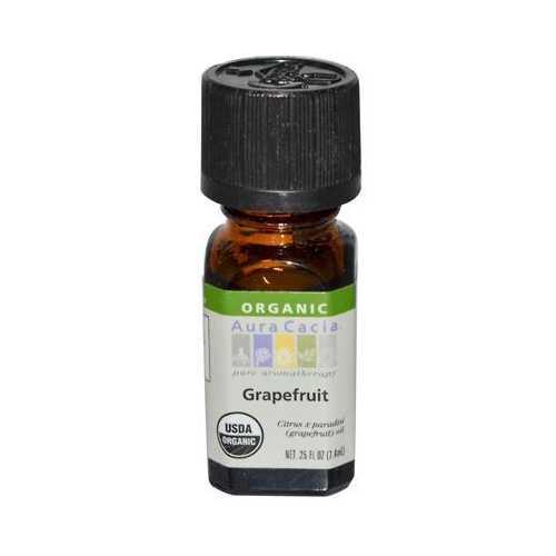 Aura Cacia Organic Grapefruit Essential Oil (1x.25 Oz)
