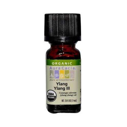 Aura Cacia Organic Ylang Ylang Essential Oil (1x.25 Oz)