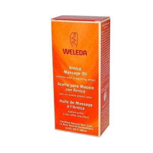 Weleda Arnica Massage Oil (1x3.4 Oz)
