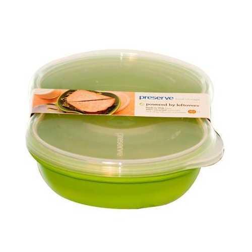 Preserve Green Square Sandwich Food Storage (1x2 PK)