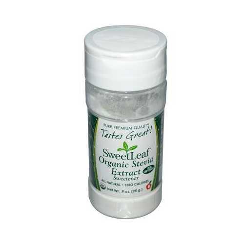Sweet Leaf Organic White Stevia Powder (1x.9 Oz)