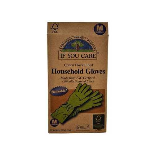 If You Care Medium Household Gloves (12x1 Pair)