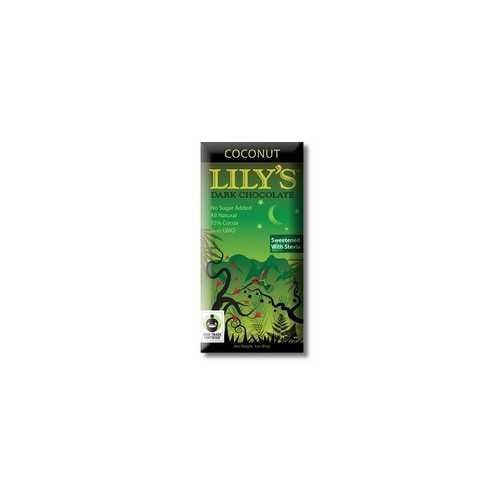Lily's Dark Chocolate Coconut (12x3 Oz)