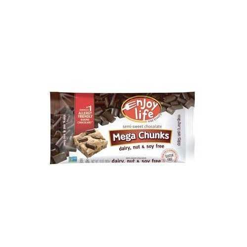 Enjoy Life Mega Chocolate Chunk Baking (12x10 Oz)