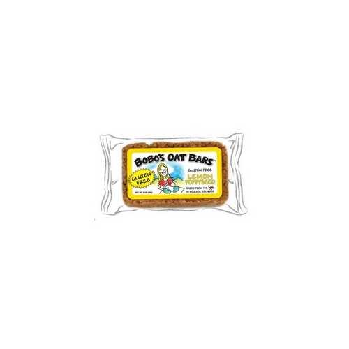 Bobo's Oat Bars Gluten Free All Natural Bar Lemon Poppyseed (12x3Oz)