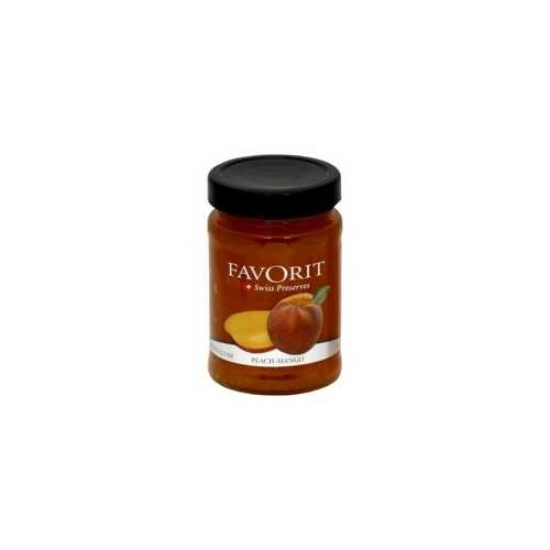 Favorit Preserves, Peach (6x12.3Oz)
