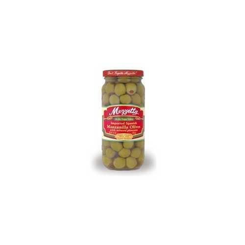 Mezzetta Spanish Manzanilla Olives With Pimento (6x10Oz)