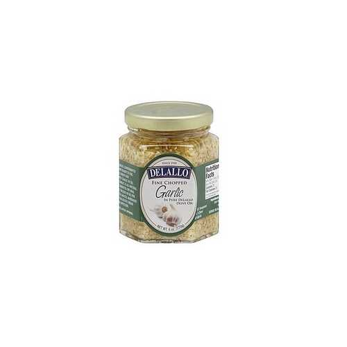 De Lallo Garlic Chopped In Oil (12x6Oz)