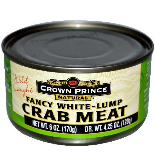 Crown Prince Fancy White Crab Meat (12x6 Oz)