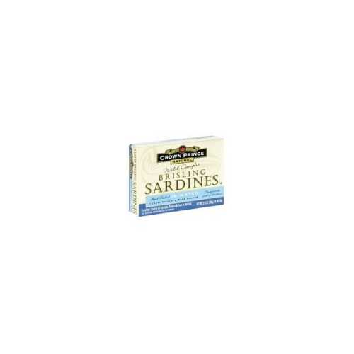 Crown Prince Brisling Sardines in Water (12x3.75 Oz)