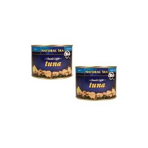 Natural Sea Yellowfin Chunk Light Tuna Salt (6x66.5 Oz)
