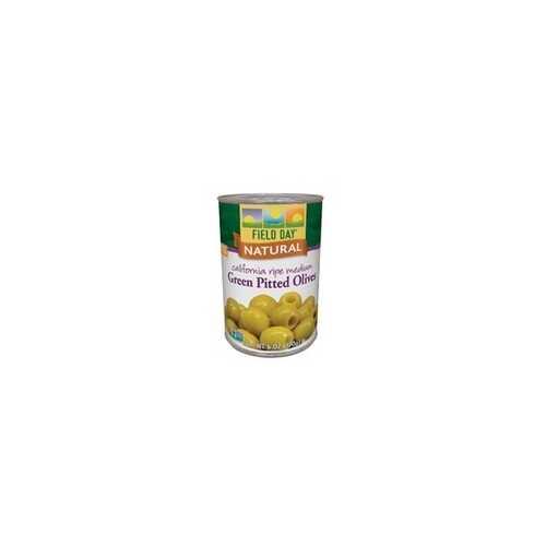 Field Day Ripe Green Olives (12x6Oz)