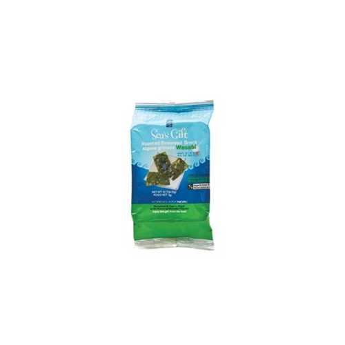 Sea's Gift Seaweed, Roasted Wasabi (24x.17 Oz)