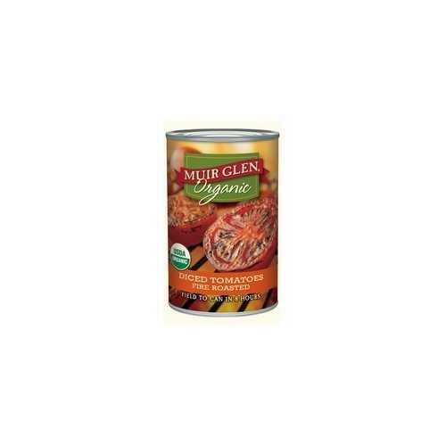 Muir Glen Organic Fire Roasted Diced Tomatoes (12x14.5Oz)