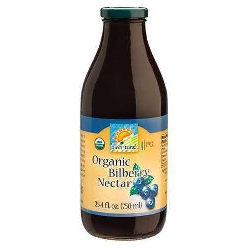 Bionaturae Bilberry Fruit Nectar (6x25.4 Oz)