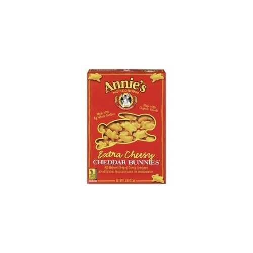 Annie's Extra Cheesy Cheddar Bunnies (12x7.5Oz)