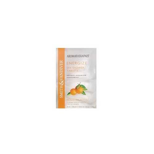 Aromatherapaes Energize Spa Shower Tablets (4x4.8Oz)