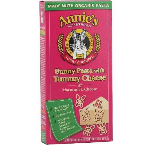 Annie's Homegrown Bunny Shape & Yummy Cheese (12x6 Oz)