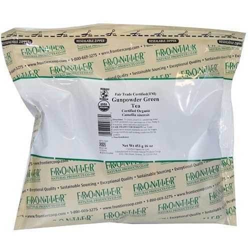 Frontier Herb Gunpowder Green Tea (1x1lb)