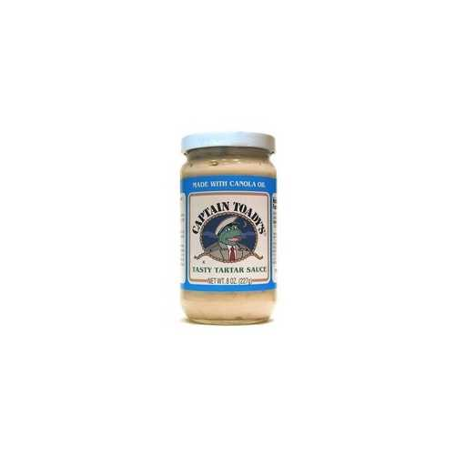 Captain Toady's Tarter Sauce (12x8 Oz)