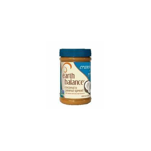 Earth Balance Crunchy Coconut Peanut Butter (12x16 Oz)