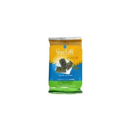 Sea's Gift Korean Seaweed Kim Nori, Roasted & Sea Salted (24x0.17Oz)