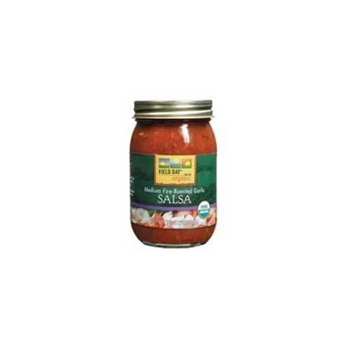 Field Day Organic Fire Roasted Garlic Salsa (12x16Oz)