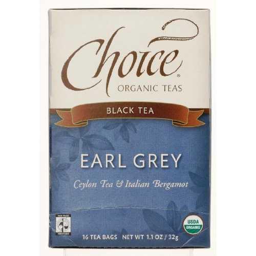 Choice Organic Teas Earl Grey (6x16 Bag)