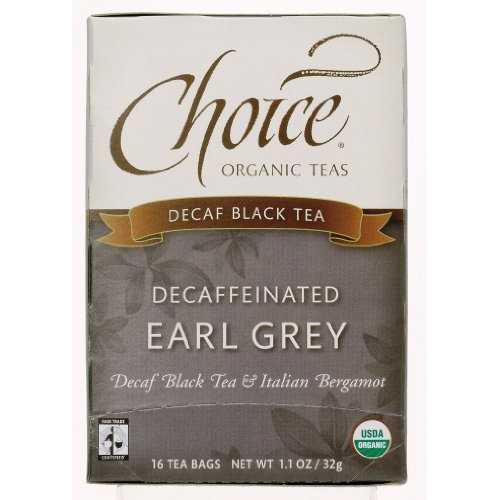 Choice Organic Teas Decaf Earl Grey (6x16 Bag)