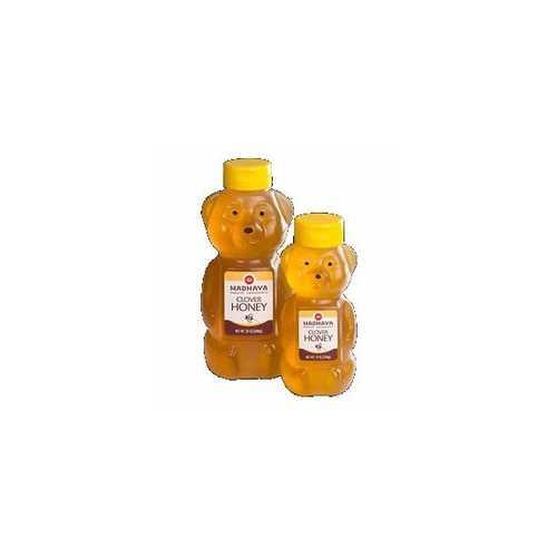 Madhava Honey Bear (6x12 Oz)
