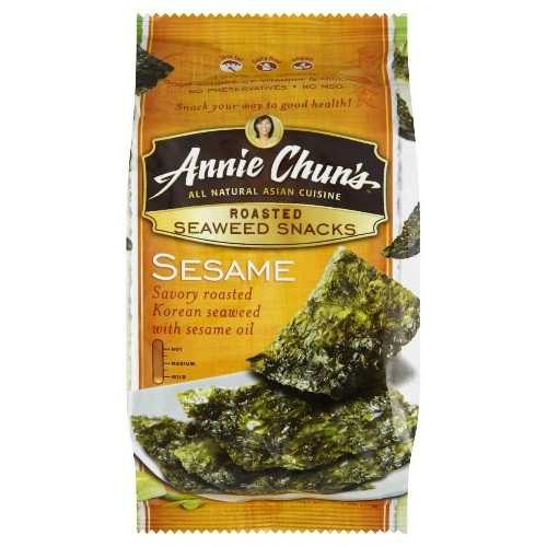 Annie Chun's Seaweed Snack Sesame (12x0.35Oz)