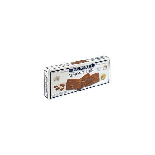Jules Destrooper Almond Thins (12x3.5Oz)