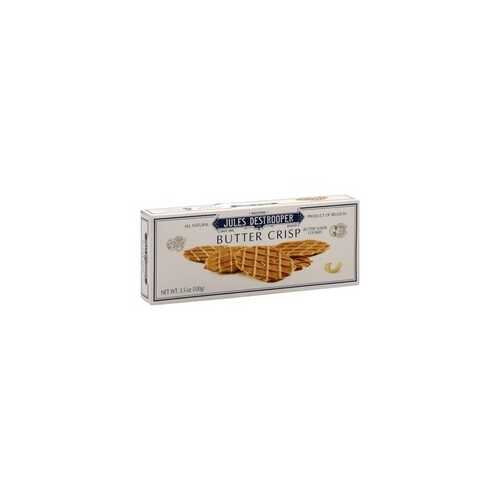 Jules Destrooper Butter Crisps (12x3.5Oz)