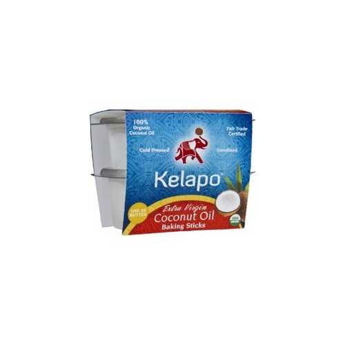 Kelapo Extra Virgin Sticks Fair Trade Coconut Oil (6x8 Oz)
