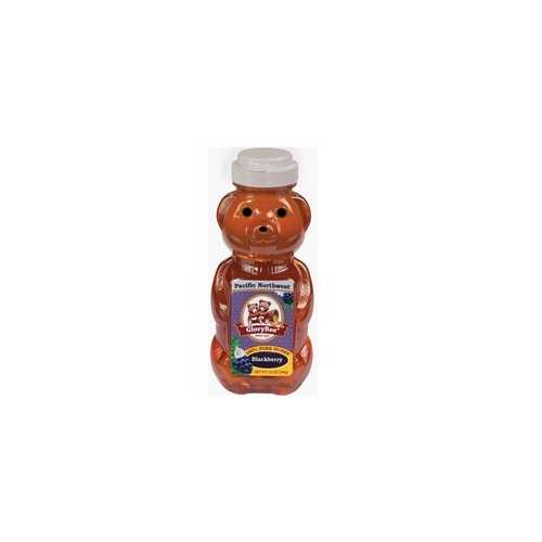 Glorybee Pacific Northwest Blackberry Honey Sqze Bears (6x12Oz)