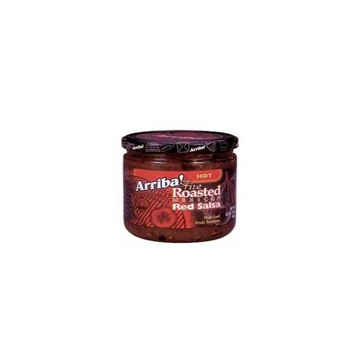 Arriba! Fire Roasted Mexican Red SalsaHot (6x16Oz)