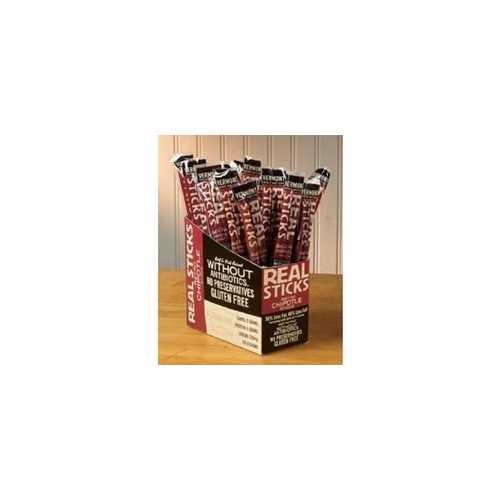 Vermont Smoke & Cure Realsticks Chipotle (24x1Oz)