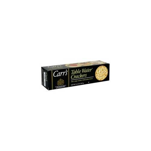 Carr's Table Water Crackers (12x4.25Oz)