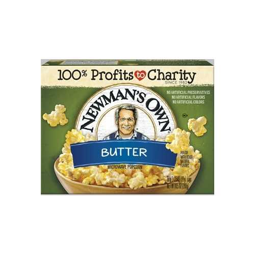 Newman's Own Microwave Butter Popcorn (12x3PK )