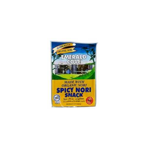 Great Eastern Sun Emerald Cove Spicy Nori Snack (6x48PC )
