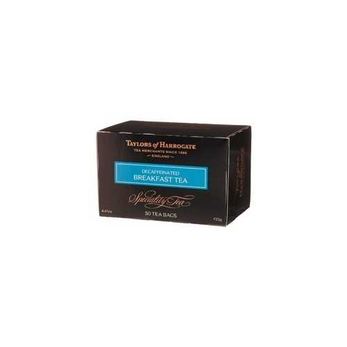 Taylors Of Harrogate Decaffeinated Breakfast Tea (6x50BG )