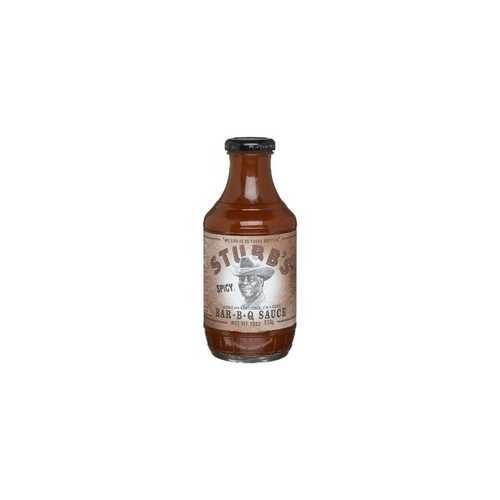 Stubbs Spicy BBQ Sauce (6x18Oz)